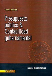 presupuesto publico y contabilidad gubernamental - 4ta edicion