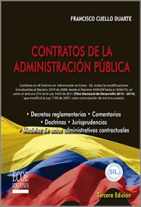 Contratos de la administración pública 3ra Edición
