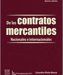 De los contratos mercantiles - 5ta Edición