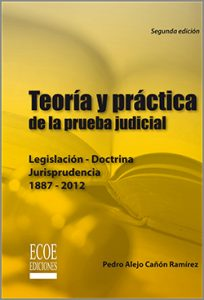 Teoría y práctica de la prueba judicial - 2da Edición