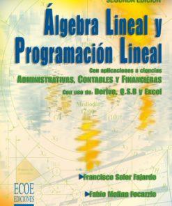 Algebra lineal y programación lineal - 2da edición