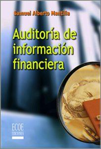 Auditoría de Información  Financiera - 1ra Edición