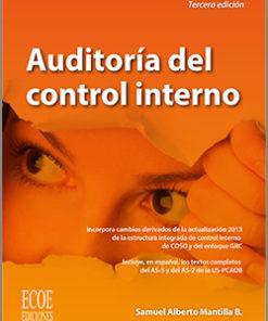 Auditoría del control interno - 3ra edición