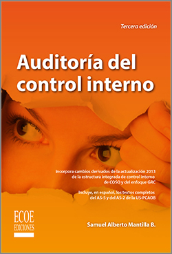Auditoría del control interno – 3ra edición