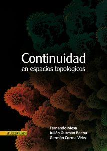 Caratula continuidad en espacios topologicos - 1ra edición