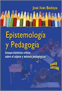 Cubierta Epistemologia y pedagogia - 6ta edición