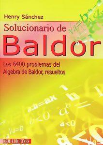 Solucionario de Baldor - 1ra Edición