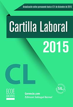 Cartilla Laboral 2015 cubierta
