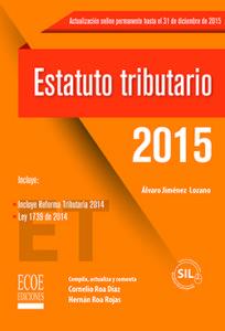 Estatuto tributario 2015