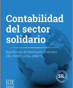 Portada libro Contabilidad para entidades del sector solidario