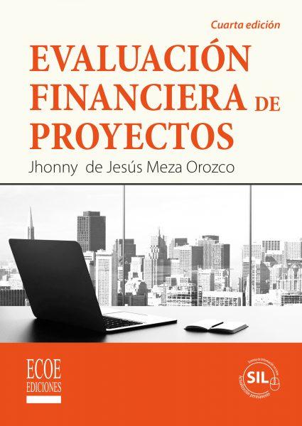 Portada libro Evaluación financiera de proyectos 4ed