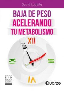 portada del libro baja de peso acelerando tu metabolismo