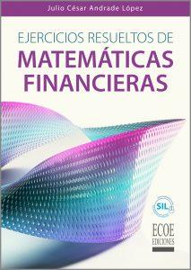 portada libro ejercicios resueltos de matemáticas financieras
