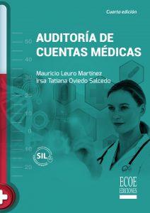 portada libro auditoría de cuentas médicas