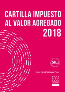 Portada libro Cartilla impuesto al valor agregado 2018