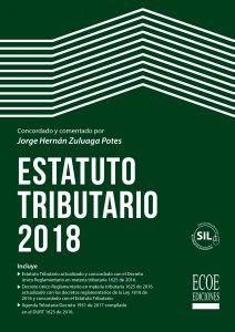 Portada libro estatuto tributario 2018