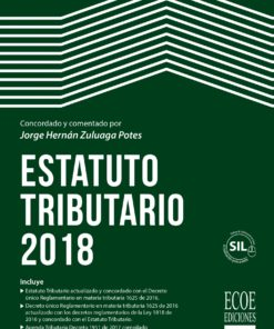estatuto tributario 2018