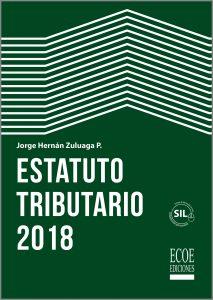 Portada libro estatuto tributario Colombia 2018