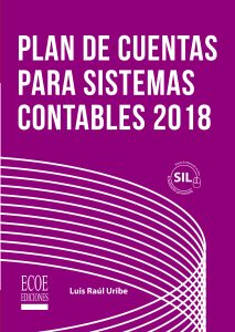 portada Libro plan de cuentas para sistemas contables 2018