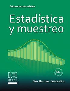portada libro estadística y muestreo