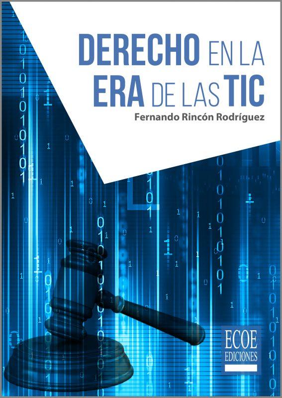 Portada libro Derecho en la era de las TIC