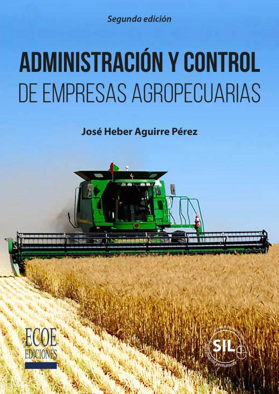 Portada libro Administración y control de empresas agropecuarias