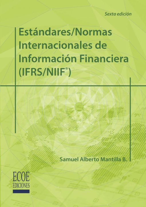 Portada libro estándares/normas internacionals NIIF