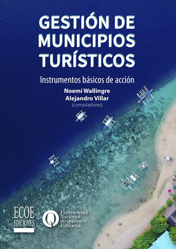 Portada libro gestión de municipios turísticos
