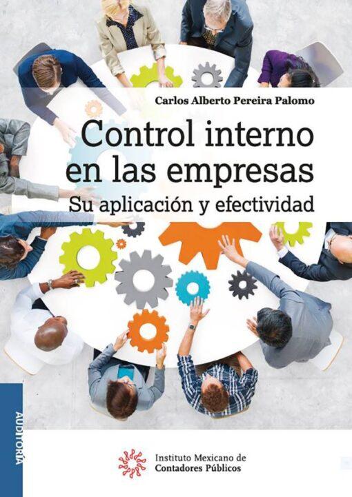 comprar libros - Control interno en las empresas, su aplicación y efectividad