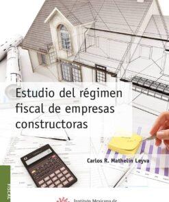 comprar libros - Estudio del régimen fiscal de empresas constructoras