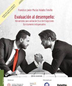 libro evaluación al desempeño herramienta para validación fiscal